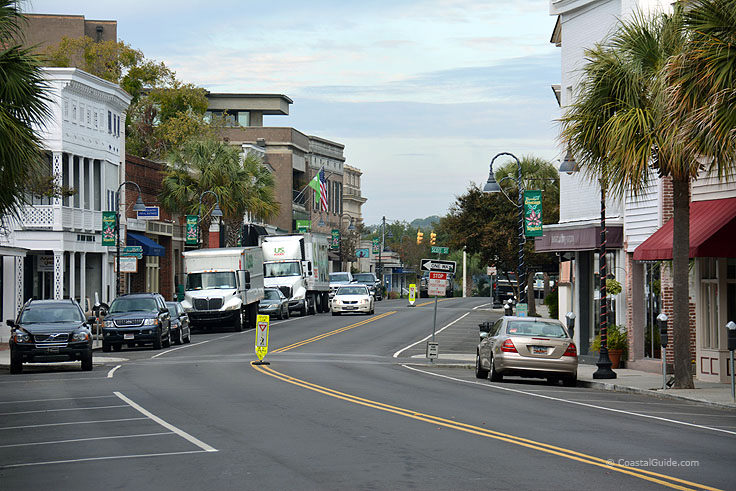 Downtown Beaufort SC