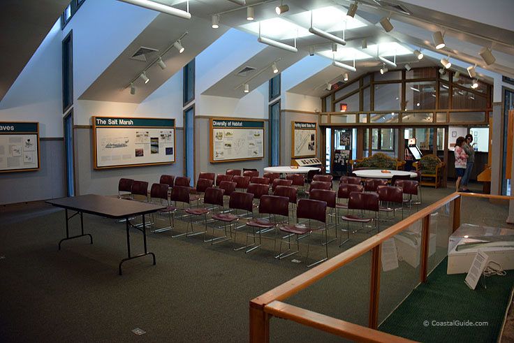 Hunting island State Park lecture room