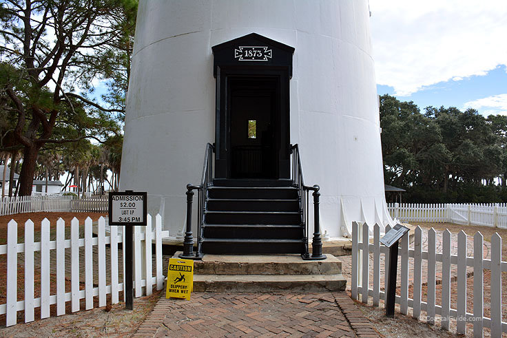 Climb the Hunting island Light