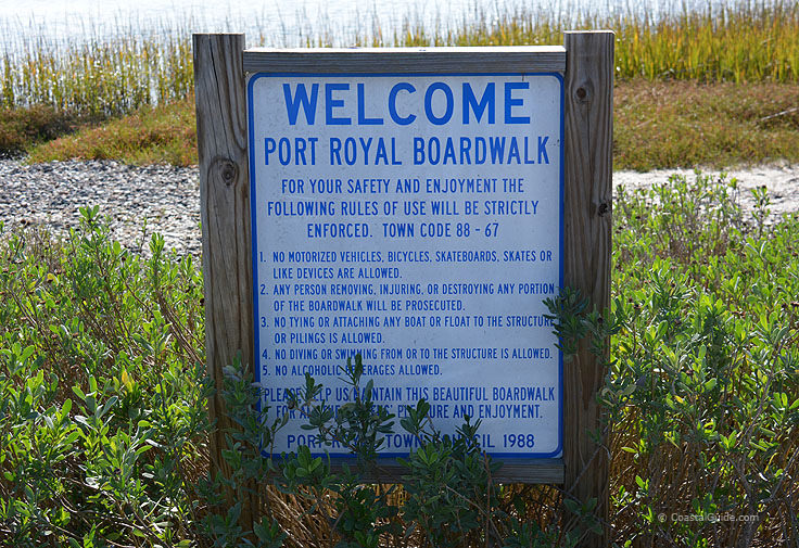 Port Royal Boardwalk rules