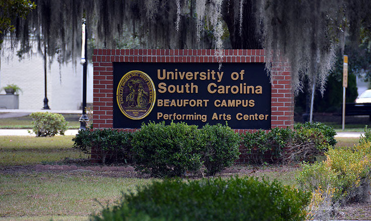 University of South Carolina Beaufort welcome sign