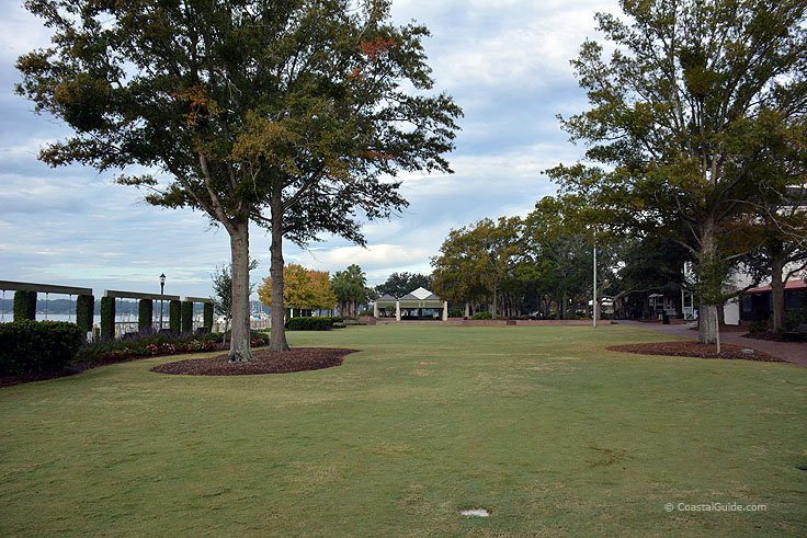 Waterfront Park in Beaufort SC