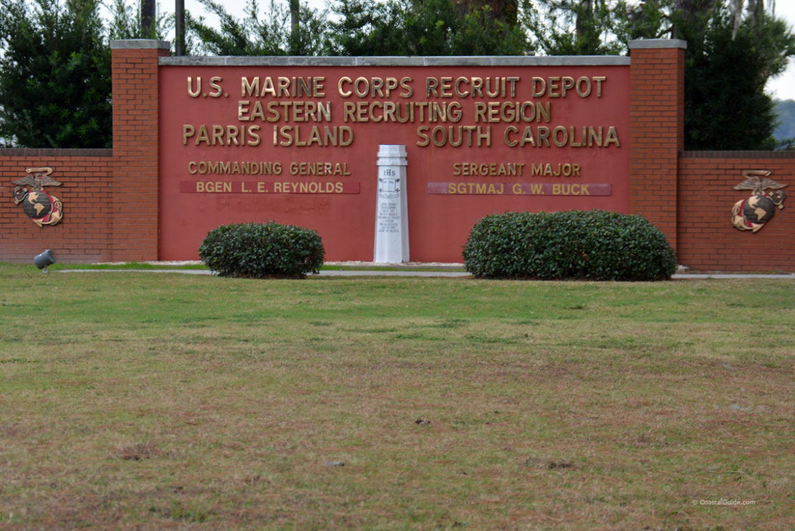 Where Is Parris Island Sc Located